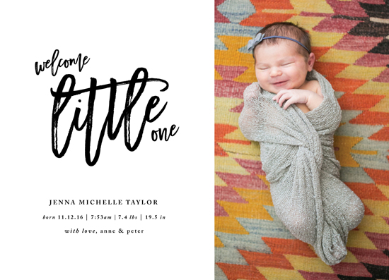 birth announcements - Big Little by JoAnn Jinks