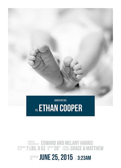 birth announcements - Movie Star by Heidi Lambeth