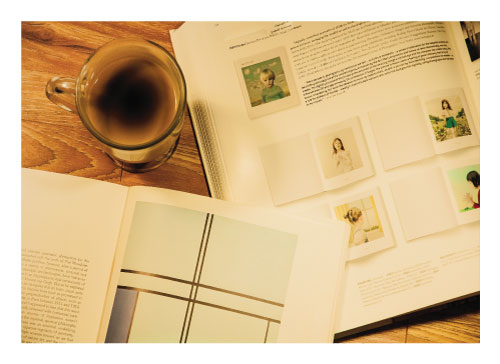 art prints - A Cup of Black coffee and a few good art books by JR