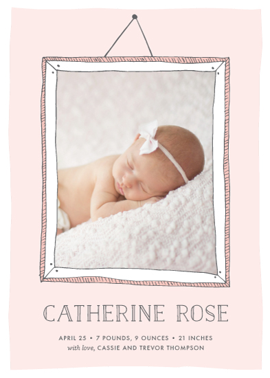 birth announcements - Perfect Portrait by Ever Upward Studio