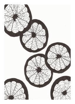 Floating Grapefruit Slices