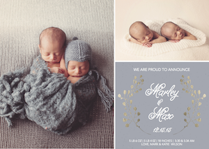 birth announcements - Baby Bundle Of Joy by Danielle Dorton