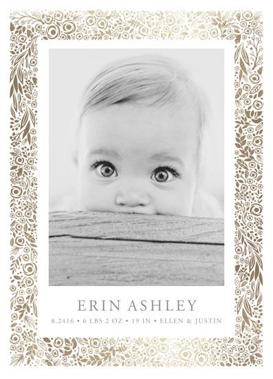 birth announcements - elegantly framed by Erin Deegan