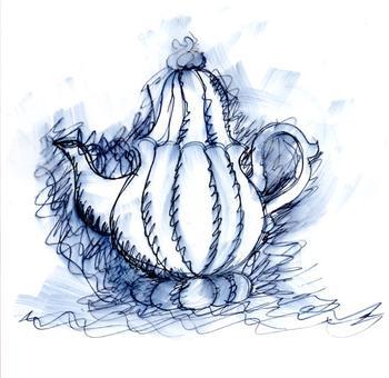 Cheerful Teapot