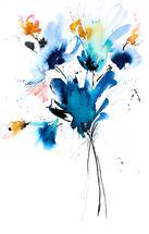 Graffiti Blooms I by Lara Klinger