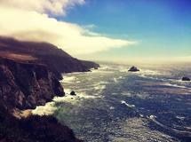 Big Sur Waves by Vinnet
