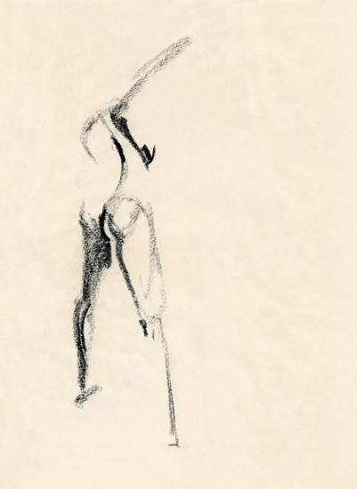 art prints - Twisting Figure by Margot Piper