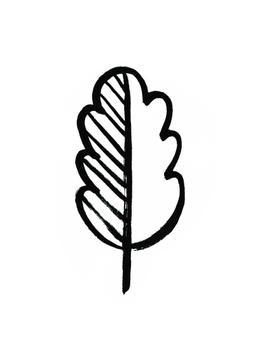 Decorative leaf