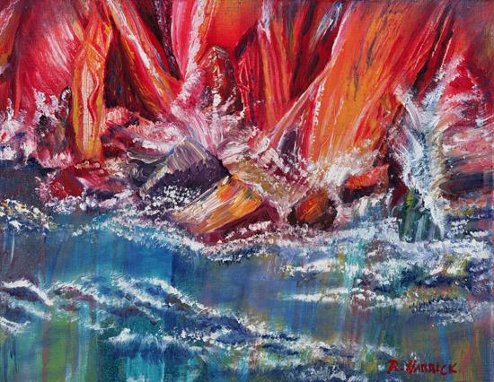 art prints - Against the Rocks by Rebecca Harrick