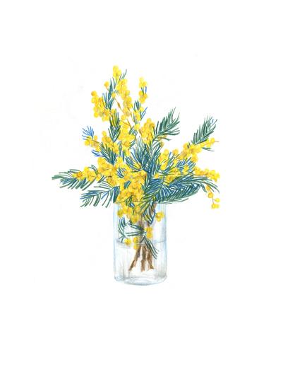 art prints - Spring bouquet by Alexandra Dzh