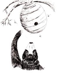 art prints - Beehive by Dotti Price