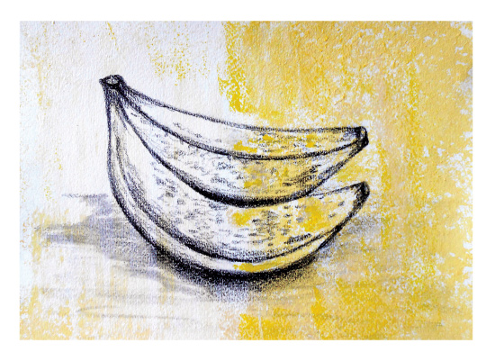 art prints - Banana Split by Lisa Muhs