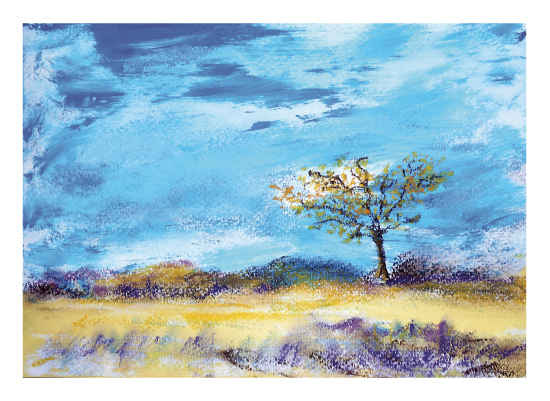 art prints - The Lone African Tree by Lisa Muhs