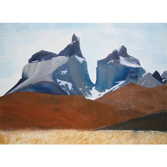 art prints - Monte Del Paine Au Chocolat by Stephen Willis