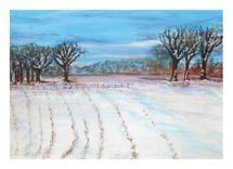 Winter Dusk by Lisa Muhs