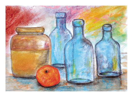 art prints - Jar n' Bottles by Lisa Muhs