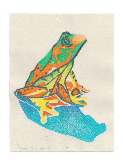 art prints - Hi - I'm from rain forest by van tsao