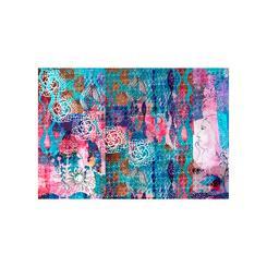 Daring patchwork collage