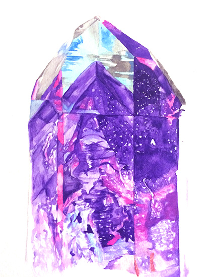 art prints - Amethyst II by Lauren Wright