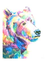 Beary Colorful by Lauren Wright