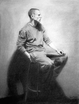 Seated Clothed Figure