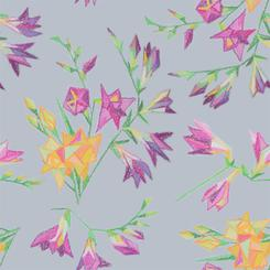 Freesia floral pattern