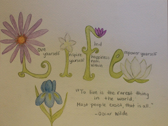 art prints - The Language of Flowers by Erika Gwin