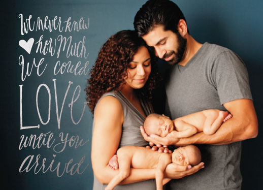 birth announcements - We Never Knew by Jennifer Elwell