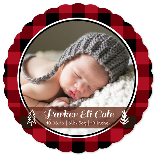 birth announcements - Hunter by Lakeside Handmade