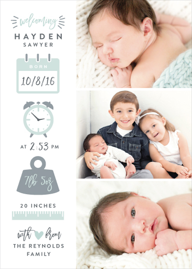 birth announcements - Measures of Love by Hooray Creative