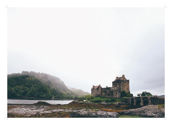 art prints - Castle in the Fog by Emily Krisky