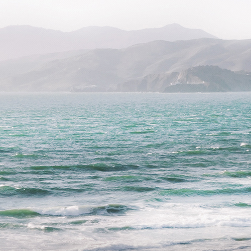 art prints - California Waves by Michelle Jones
