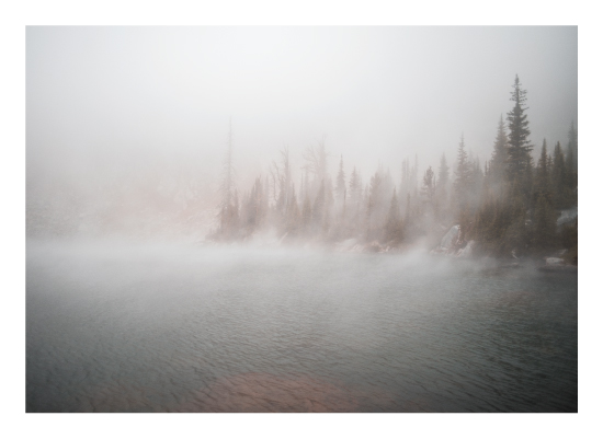 art prints - Steam Off the Lake by Jonathan Campbell