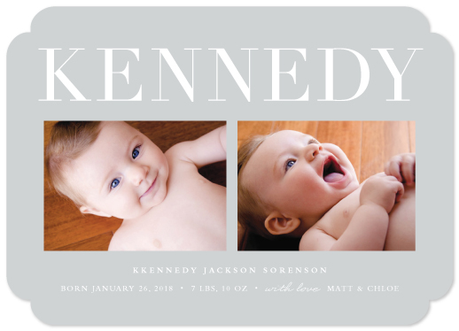 birth announcements - Classic name by Stacey Meacham
