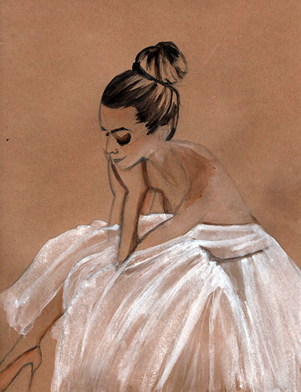 art prints - grace by Alyssa Ruggieri