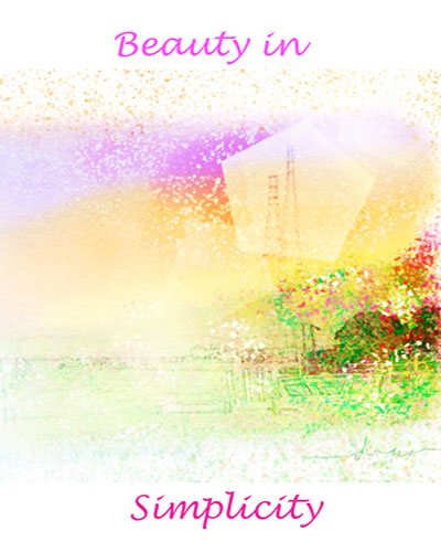 art prints - beauty in simplicity by Diane Amil