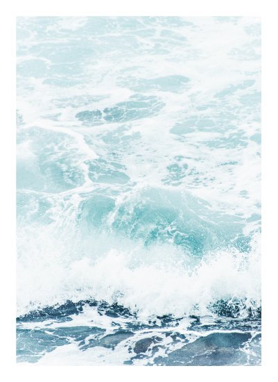 art prints - Storm Swell No. 1 by Kamala Nahas