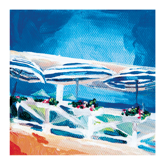 art prints - Sun Umbrellas by Mackenzie Foreman