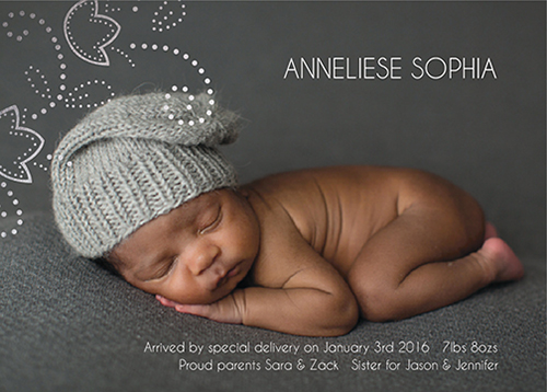 birth announcements - Baby dreams by Mareike von Engelbrechten