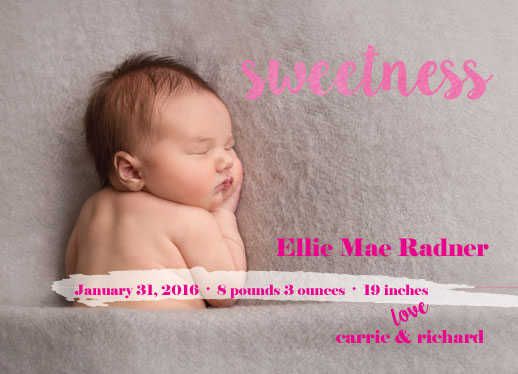 birth announcements - sweetnesss by frolic