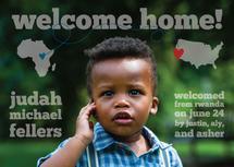 an international welcom... by Lauren Gerig