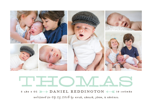 birth announcements - Nonpareil by Sarah Brown