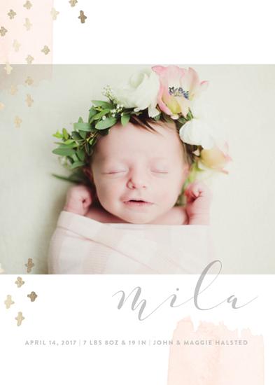 birth announcements - Tiny Love by Oscar & Emma
