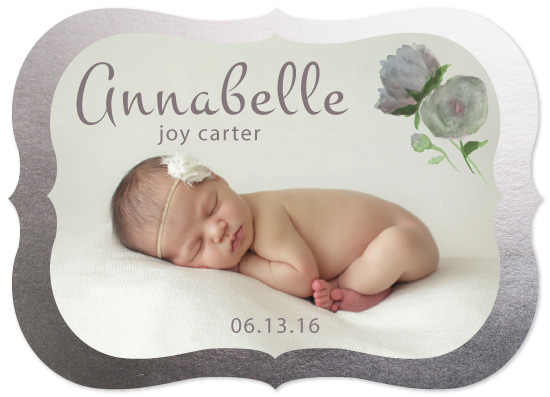 birth announcements - Annabelle by AmmandaCo