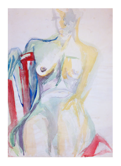 art prints - Nude in Color by Judy Stone