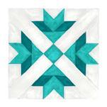Crossroads Quilt Block by Katie Tandlmayer