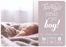 Hooray it's a boy by Alice Galeotti