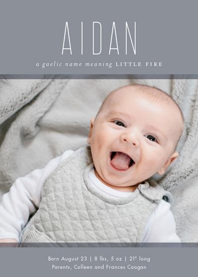 Birth Announcements Origins At Minted Com
