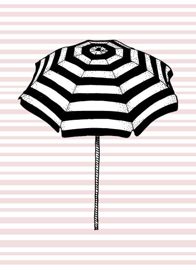 art prints - Florida Umbrella by Kari Joy