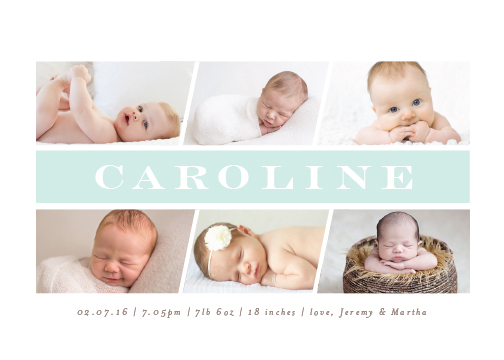 birth announcements - cavalucci by chocomocacino